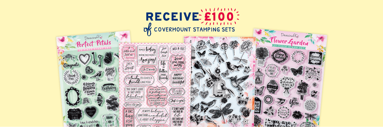 Recieve £100 of covermount Stamping Sets