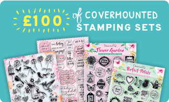 £100 of covermounted stamping sets