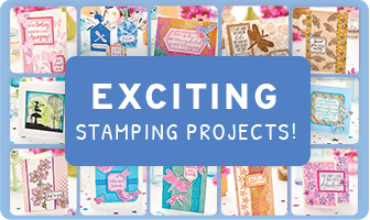 Exciting stamping projects!