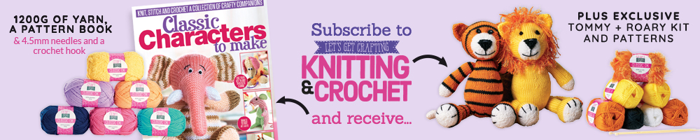 Subscribe to Let's Get Crafting - Knitting & Crochet!